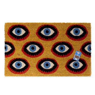 Kitsch_Kitchen-doormat eyes-mrszebra
