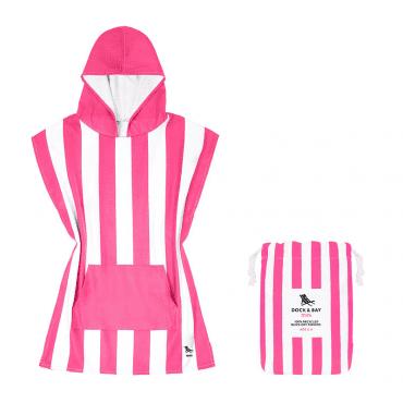 DOCKBAY-poncho-kids-pink-mrszebra