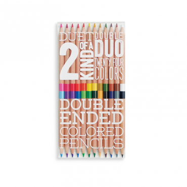 OOLY-DOUBLE ENDED PENCILS-MRSZEBRA